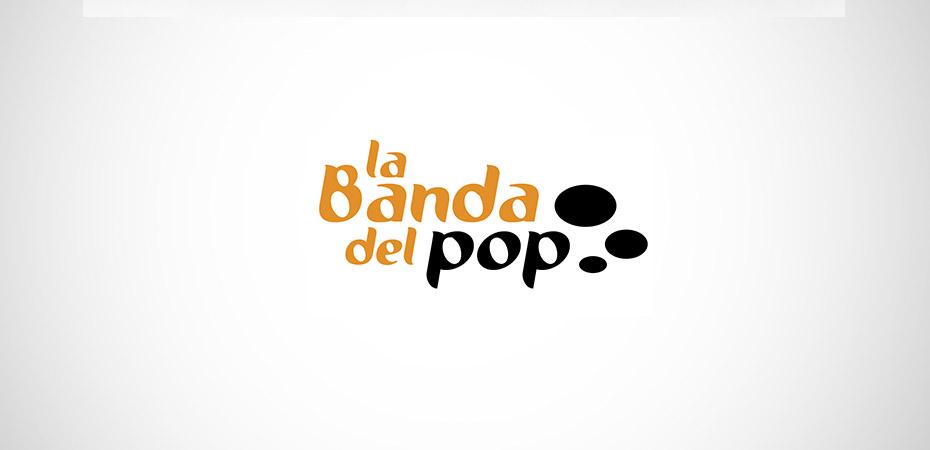 Logo La banda del pop