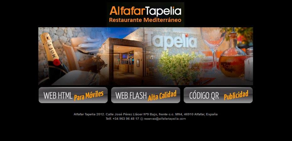 Página web Alfafar Tapelia