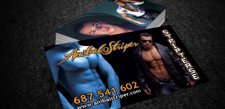 Tarjetas de visita Anibal Striper