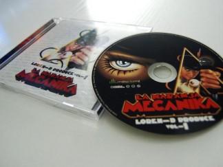 Diseño de cd Loren D.
