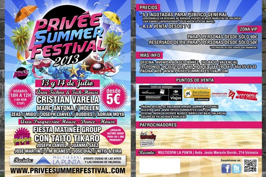 PRIVÉE SUMMER FESTIVAL