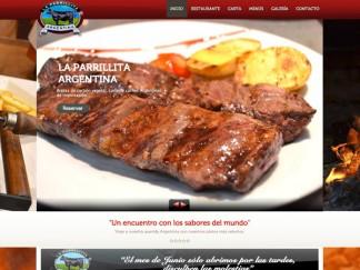 Diseño web para la Parrillita Argentina