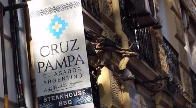Asador Argentino Cruz Pampa