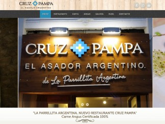 Página web asador restaurante en valencia