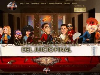 Página web para la Ultima Cena