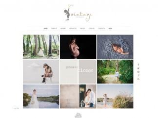 diseño de página web de fotografía
